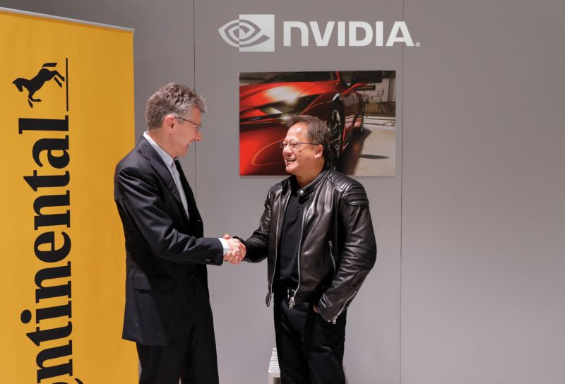Continental and NVIDIA Partner to Enable Production of AI Powered Self-Driving Cars
