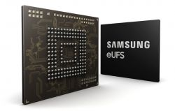 Samsung Begins Production of 256GB eUFS Storage for Automotive Applications