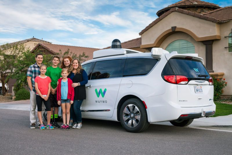 Waymo Launching Ride-Hailing Service in 2018 That May Rival Uber