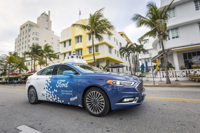 Ford's Self-Driving Delivery Business Heads to Miami for Testing