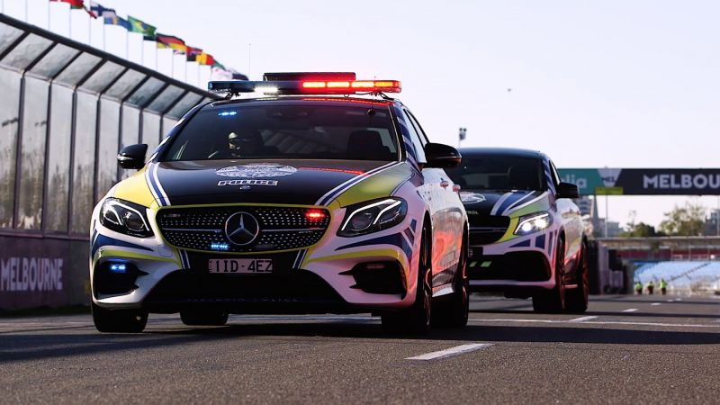 Mercedes-Benz Unveils New Police Cars at GPEC 2018