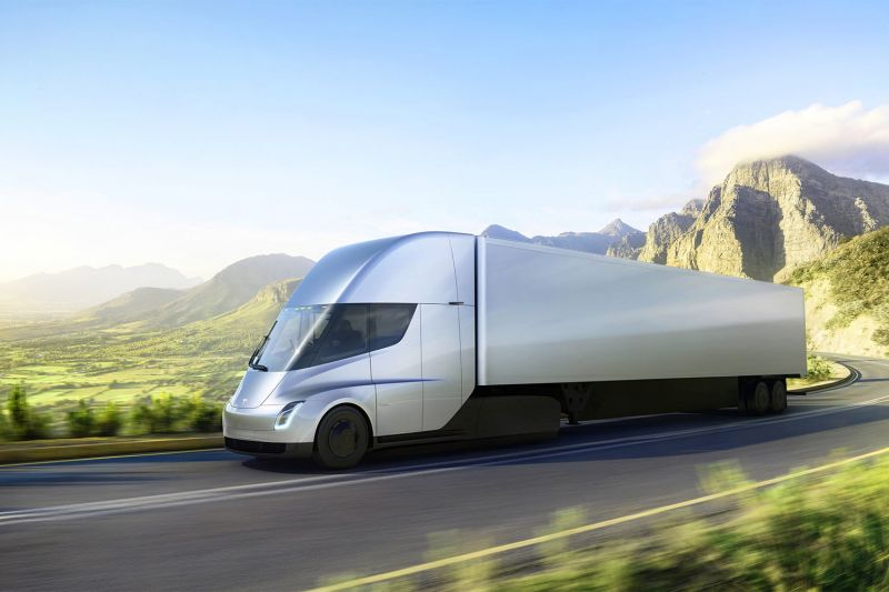 March 8, 2018 News of the Day: Tesla's Electric Semi Truck Makes its First Delivery, Goodyear's Oxygene Concept Tire With Living Moss Improves Air Quality