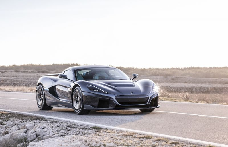 The Rimac Concept Two is a Preview of What Supercars Will be Like in The Future