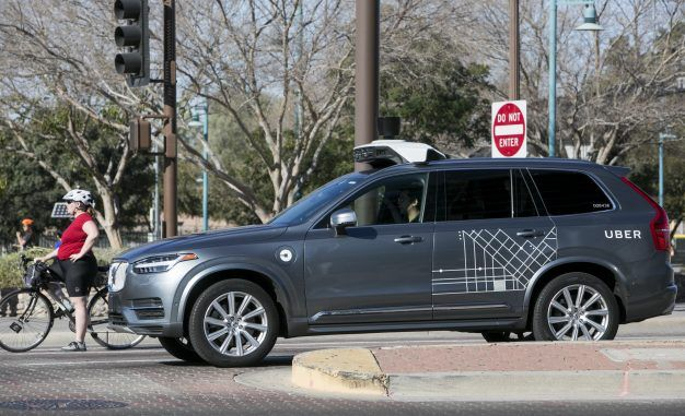 Uber Self-Driving Vehicle Strikes and Kills Pedestrian