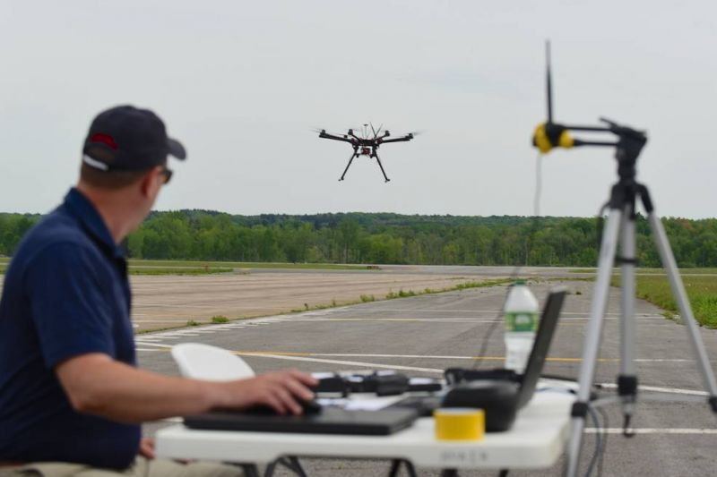 Boeing Invests in Drone Startup Fortem Technologies