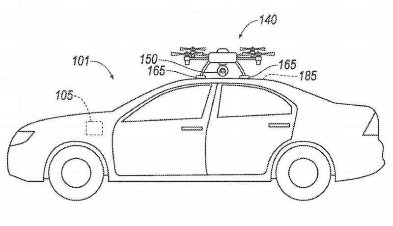 Ford Plans to Use Drones to Lend a Helping Hand to Broken-Down Autonomous Cars
