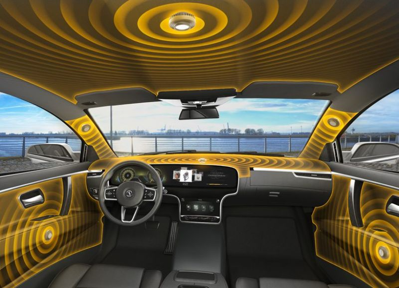 Continental's Advanced Car Audio System Uses No Speakers