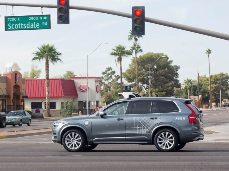 Arizona Gov Suspends Uber's Self-Driving Tests Following Fatal Accident