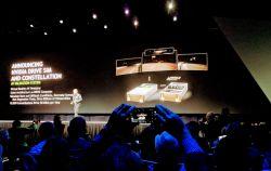 NVIDIA CEO Reveals DRIVE SIM, a VR Autonomous Driving Simulator at GTC 2018