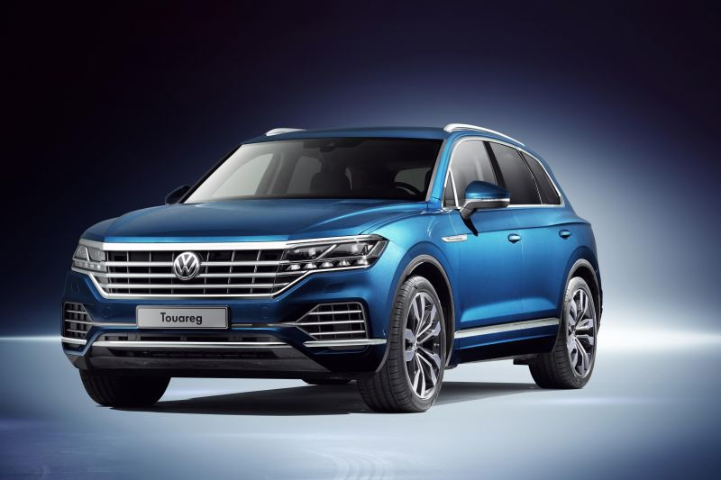 New Volkswagen Touareg Plug-in Hybrid Announced in China