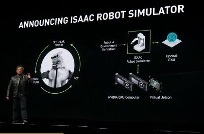 NVIDIA Releases Isaac Simulator to Accelerate Development of Autonomous Robots