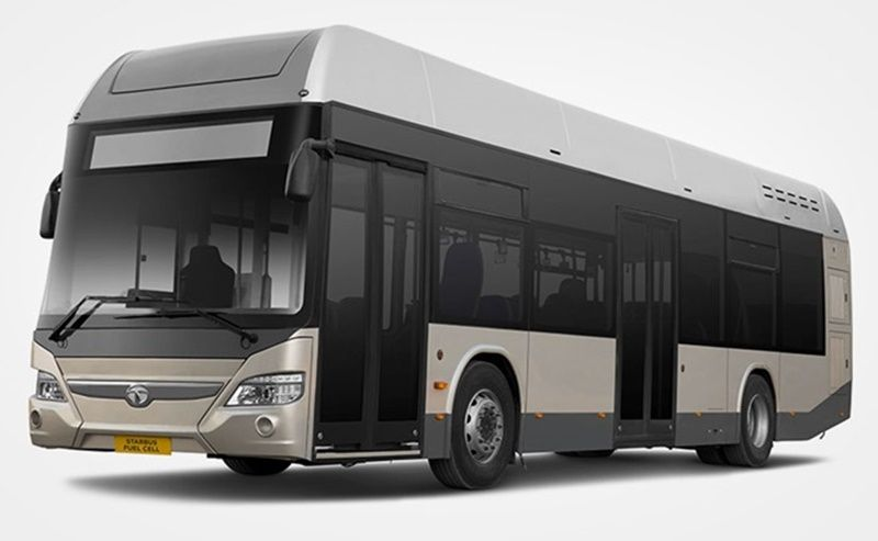 India Rolls Out Fuel-cell Powered Bus for Public Transportation