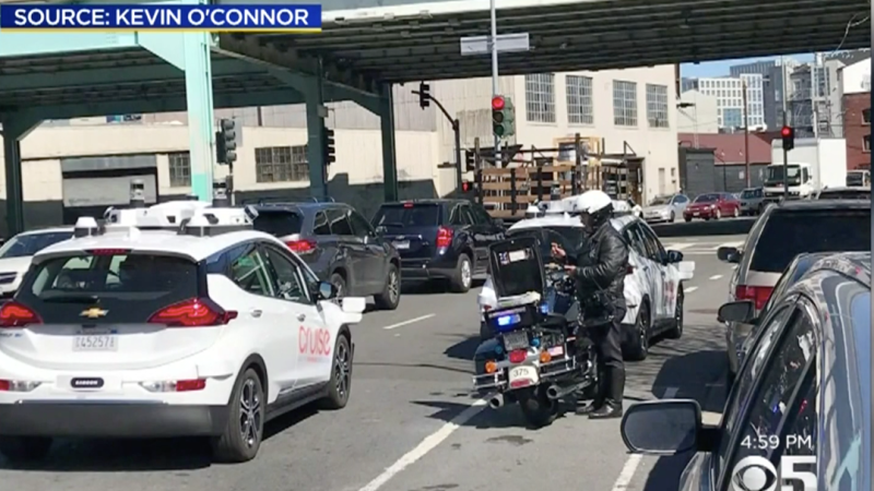 One of General Motor's Autonomous Vehicles Got a Ticket in San Francisco