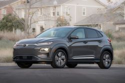 Hyundai Kona Electric Arrives in New York With 250-Mile Range
