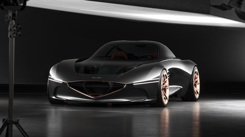 Genesis Essentia Concept is a First Look at Prettier Electric Vehicles