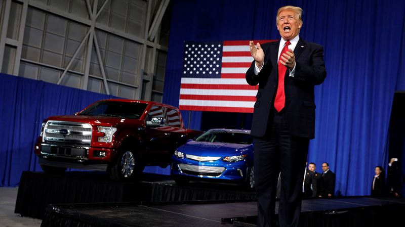 Trump Administration Considers Stricter Emission Standards for Imported Cars