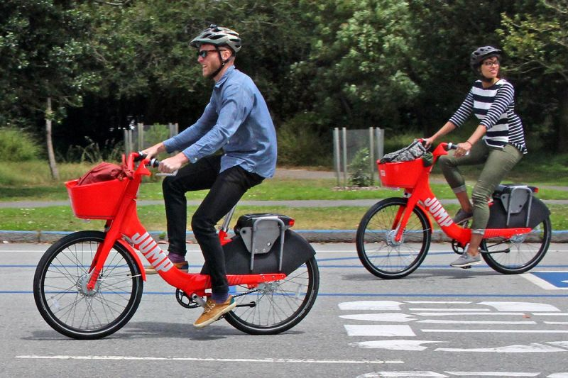 Uber Buys Dockless E-Bike Sharing Startup JUMP for Nearly $200 Million