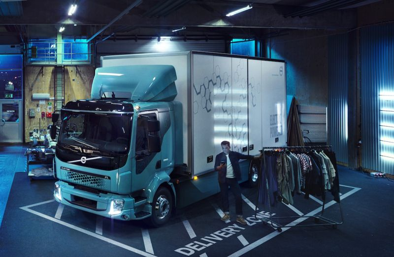 Volvo Announces its First Electric Truck for Commercial Use