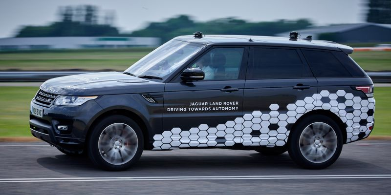 Jaguar Land Rover Working on Technology to Help Cars See Around Corners