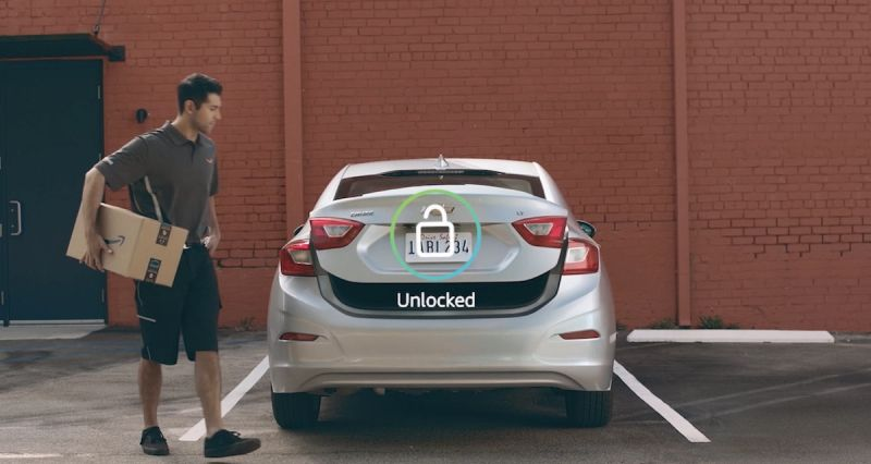 Amazon to Start Delivering Packages Directly to the Trunk of Your Car