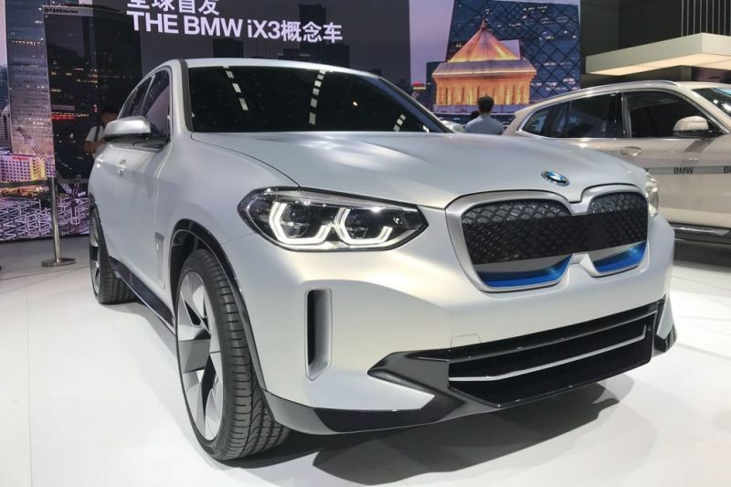 BMW Reveals the New All-Electric iX3 in Beijing