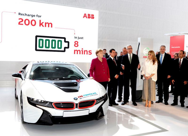 ABB to Deploy Ultra Fast, Terra High Power EV Charger