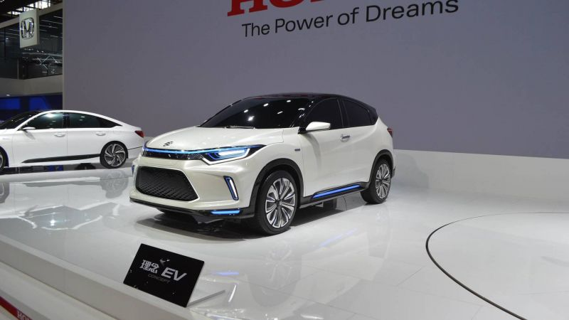 Honda Unleashes Everus EV Concept for China-based Consumers
