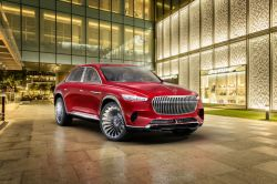 The Vision Mercedes-Maybach Ultimate Luxury is an Outrageously Luxurious EV