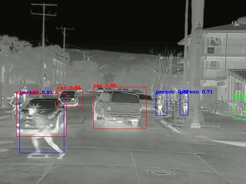 Thermal Cameras Might be the Key to Making Self-driving Cars Safe