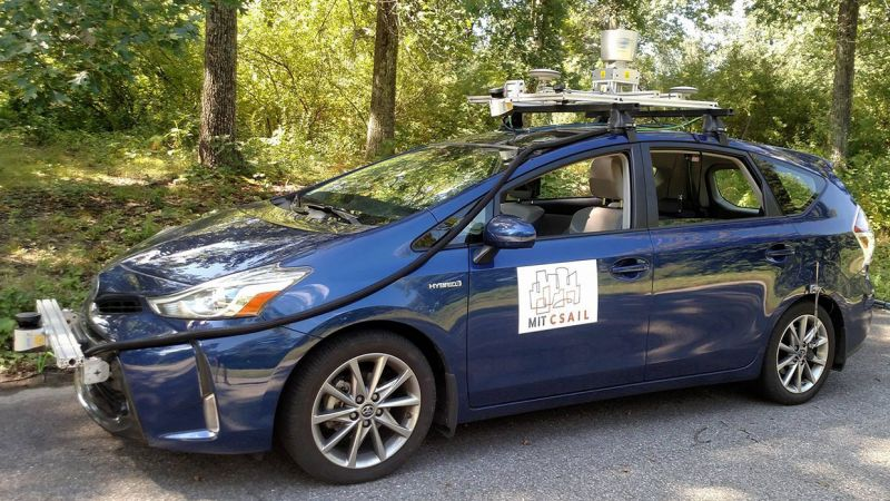 Autonomous Cars Can Get By With a Flash Drive-Sized Map, Says MIT
