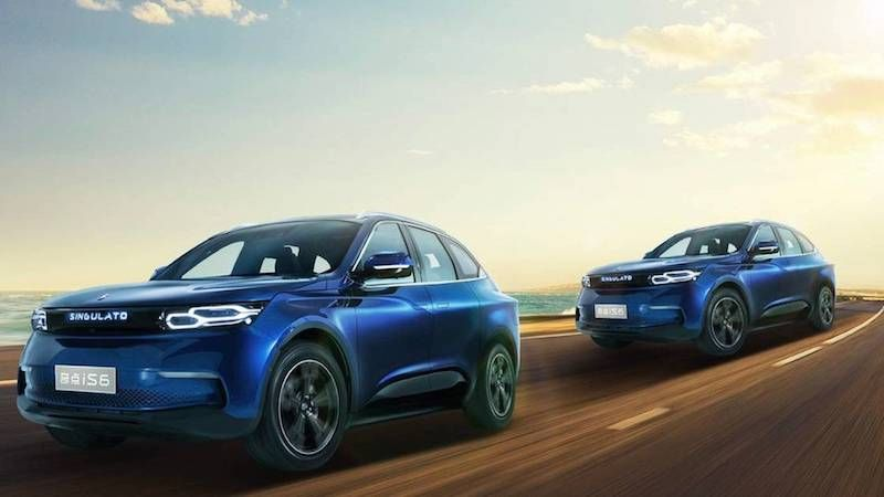 Chinese EV Startup Singulato Reveals Details Behind iS6 SUV