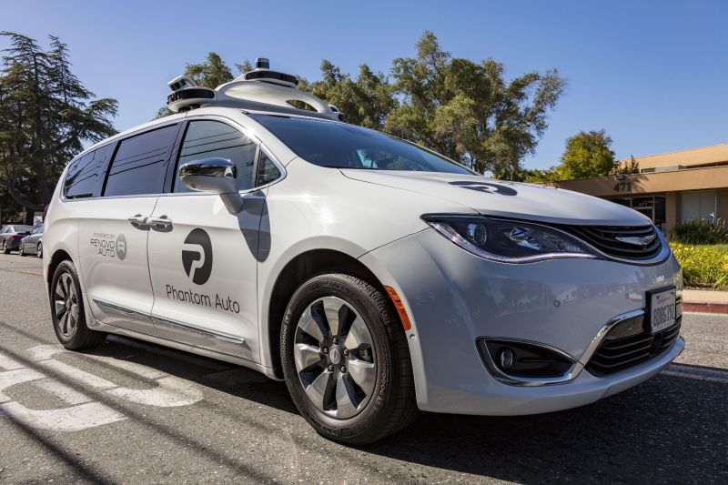 Phantom Auto & Renovo Partner on Teleoperation of Autonomous Vehicles