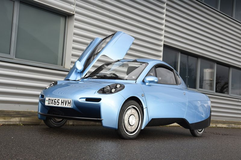 Riversimple Takes On Tesla with the Hydrogen-powered Rasa