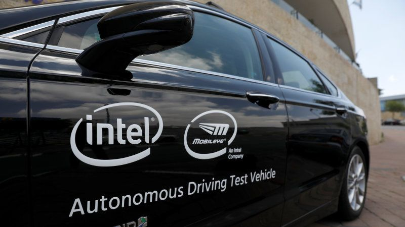 Intel's Mobileye Inks Deal to Supply 8 Million Cars with Self Driving Tech