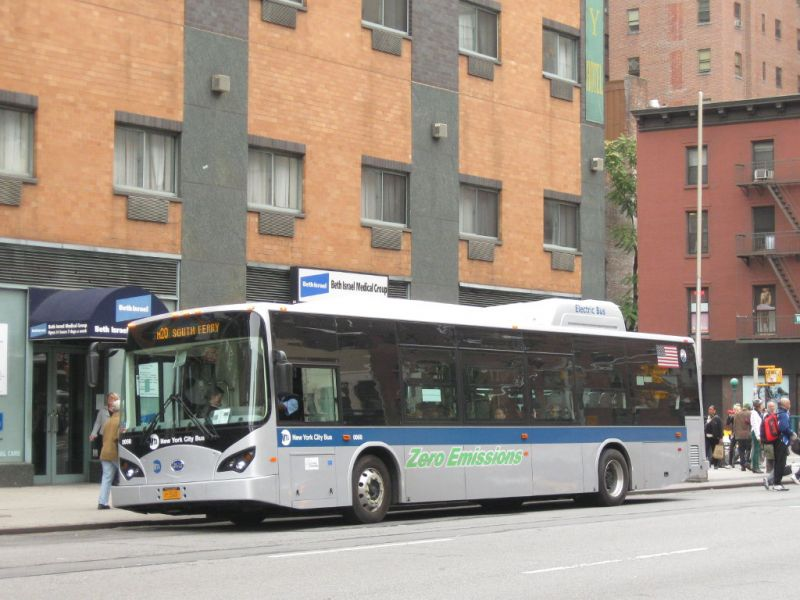 New York Plans To Make Bus Fleet All Electric By 2040