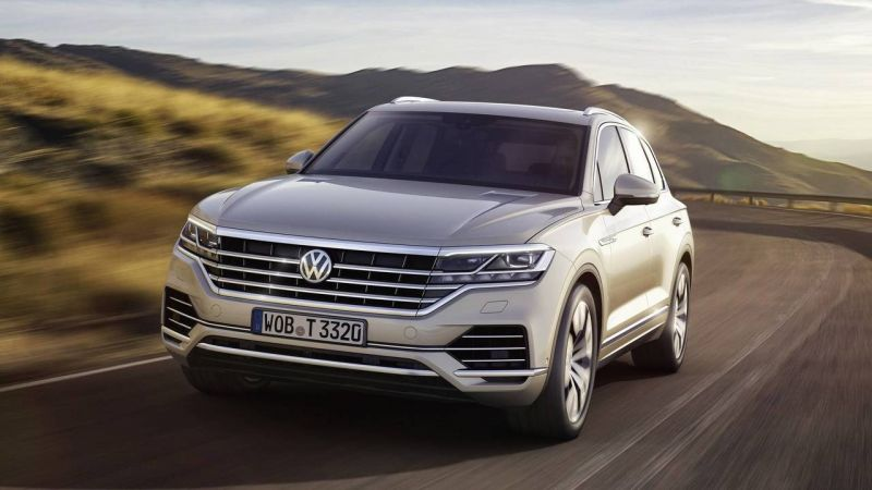2019 Volkswagen Touareg Will Get All-Wheel Steering System