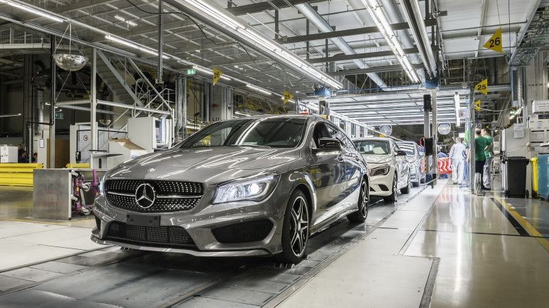 Mercedes-Benz Invests $598 Million in Hambach Plant to Expand EV Production