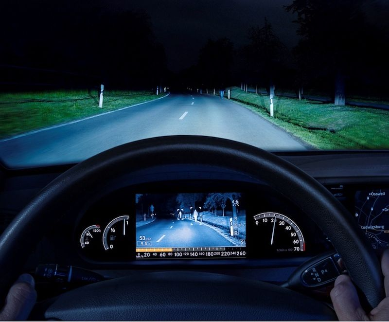 Should Night Vision be a Standard Feature on Autonomous Cars?