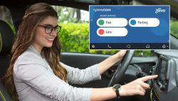Hyundai & Xevo Working on a In-Vehicle Payment System