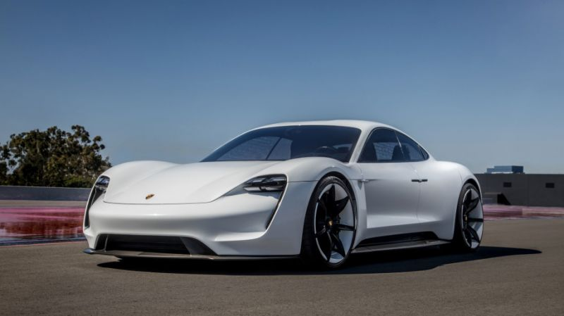 Porsche Officially Names Its New Electric Sedan The Taycan