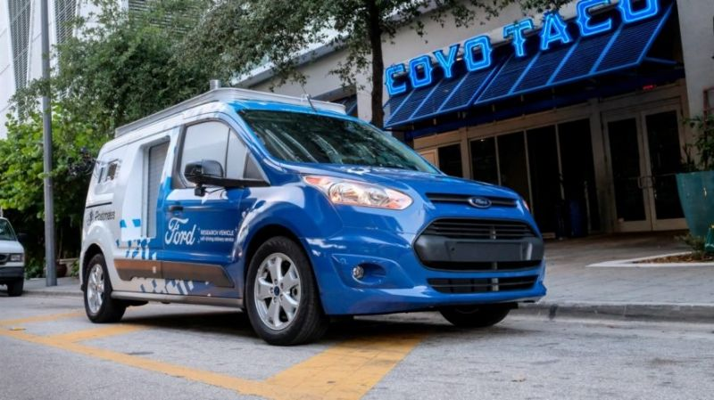 Ford Testing On-Demand Autonomous Delivery with Postmates in Florida