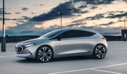 Mercedes Benz Reveals its Electric EQA Concept in New Video