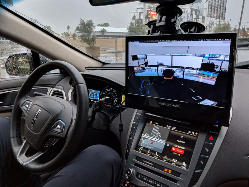 Phantom Auto Helps Self-driving Cars Get Out of Tricky Situations on the Road