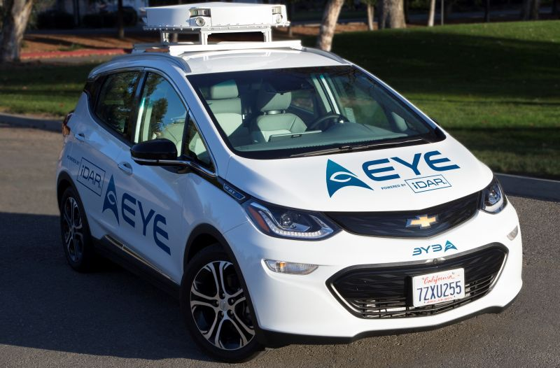 AEye's Next-Gen AI-Based Perception May Become the 'Eyes' of Self-Driving Cars