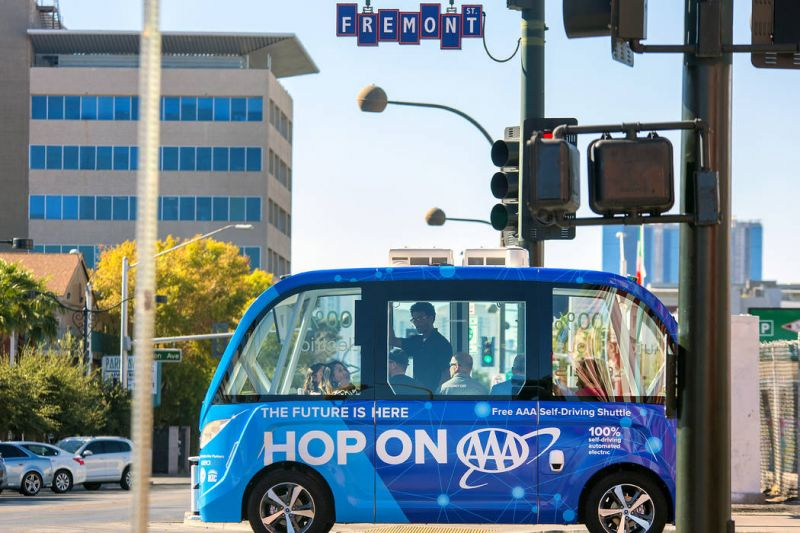 AAA Nevada Launches Driverless Bus Wedding Competition