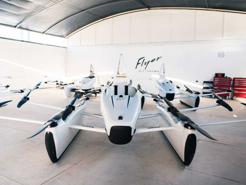 Flyer: Kitty Hawk Unveils Flying Car for Recreational Use