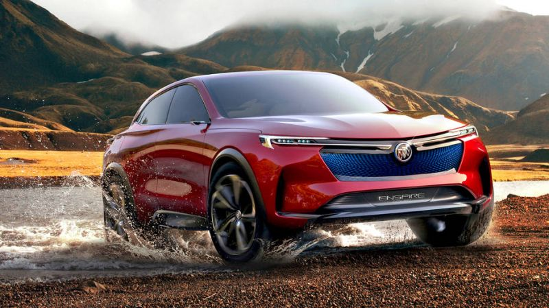Buick Enspire Electric SUV Concept Revealed at Beijing Auto Show