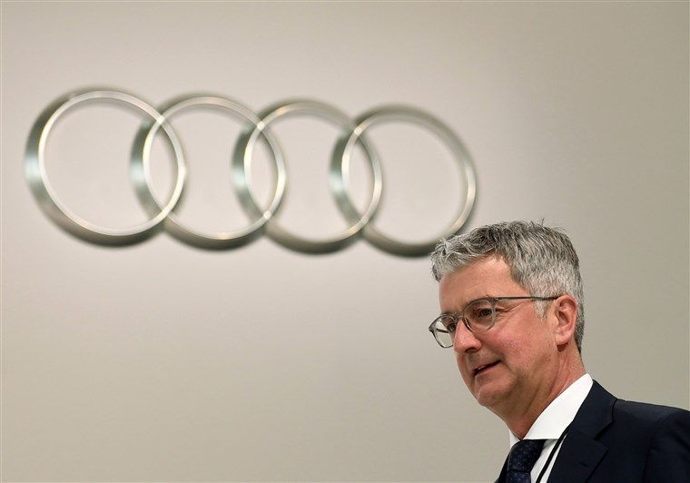 Audi CEO Arrested in Germany Over Dieselgate Scandal