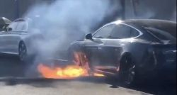 NTSB to Investigate Tesla Model S Fire in California