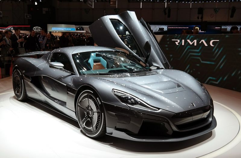 porsche buys stake in electric car startup rimac - futurecar